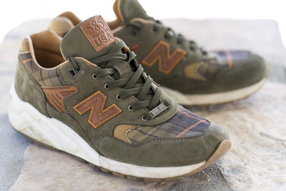 Buck and Ball x New Balance 585 Sporting Gentleman