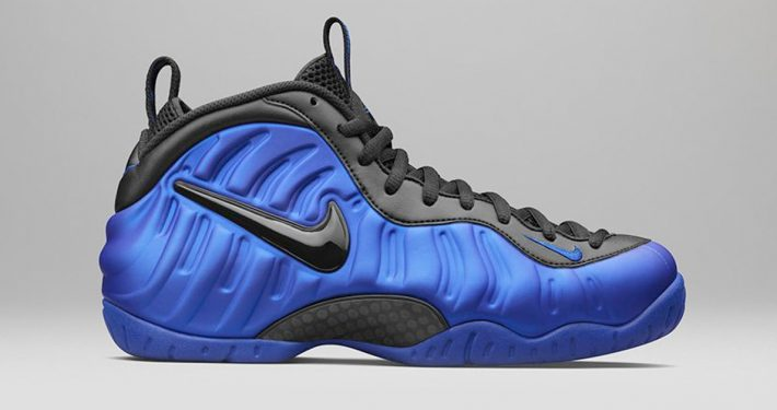 Nike Air Foamposite Pro Hyper Cobalt Black