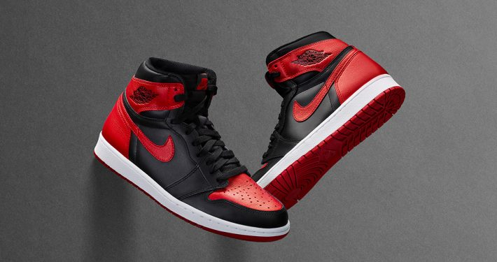 Nike Air Jordan 1 Retro High Bred - 555088-001