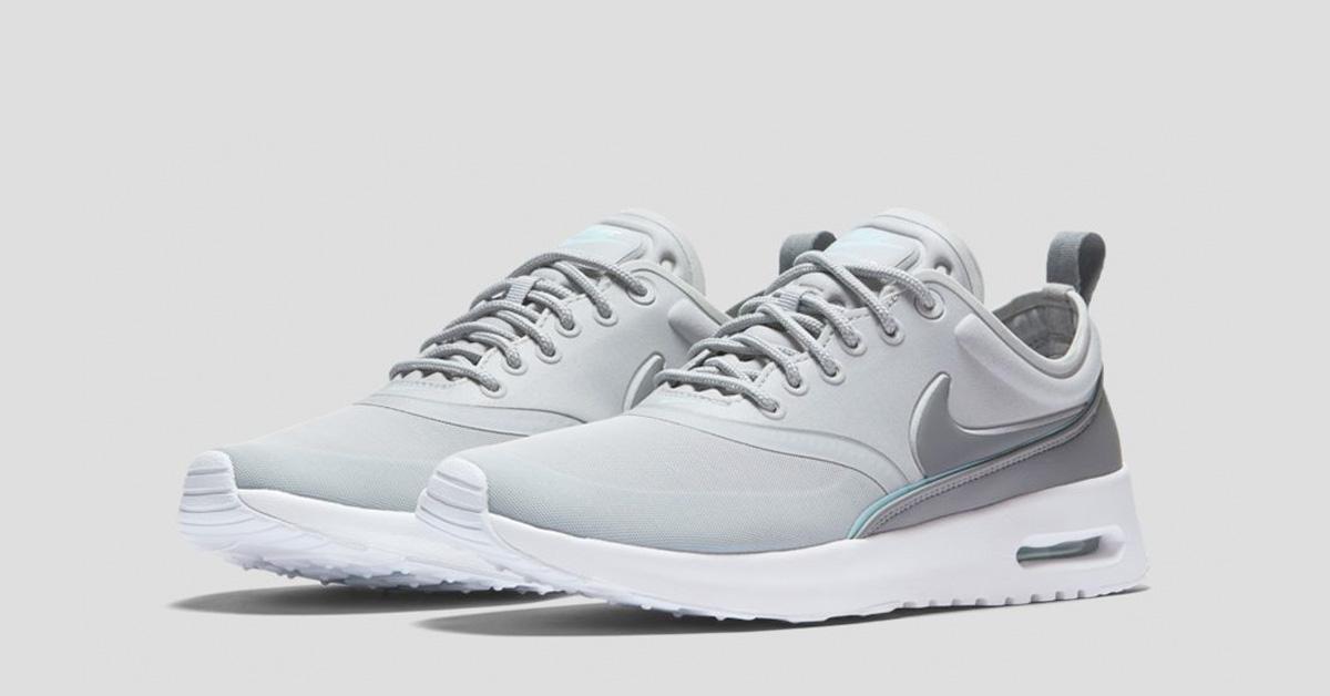 Nike Air Max Thea Ultra weißmetallic silverwolf greywhite