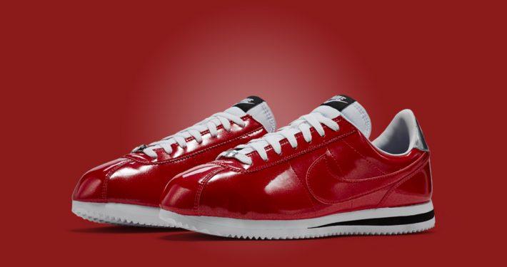 Nike Cortez Basic Premium Gym Red