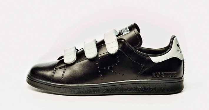 Raf Simons x Adidas Stan Smith CF Black