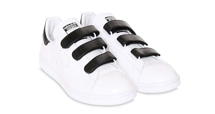 Raf Simons x Adidas Stan Smith CF White Black 64I-3H2004
