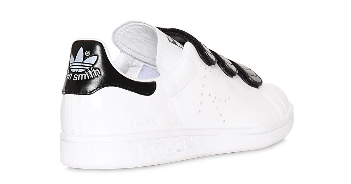 Raf Simons x Adidas Stan Smith CF White Black 64I-3H2004
