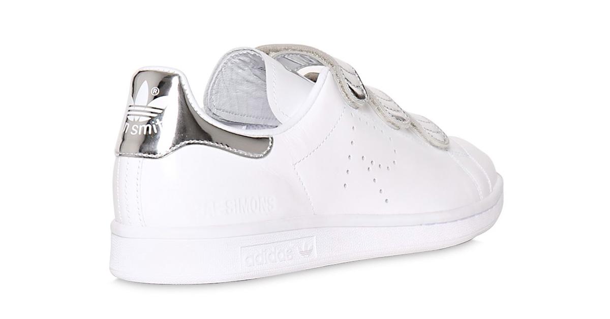 Raf Simons x Adidas Stan Smith CF White Silver 64I-3H2005