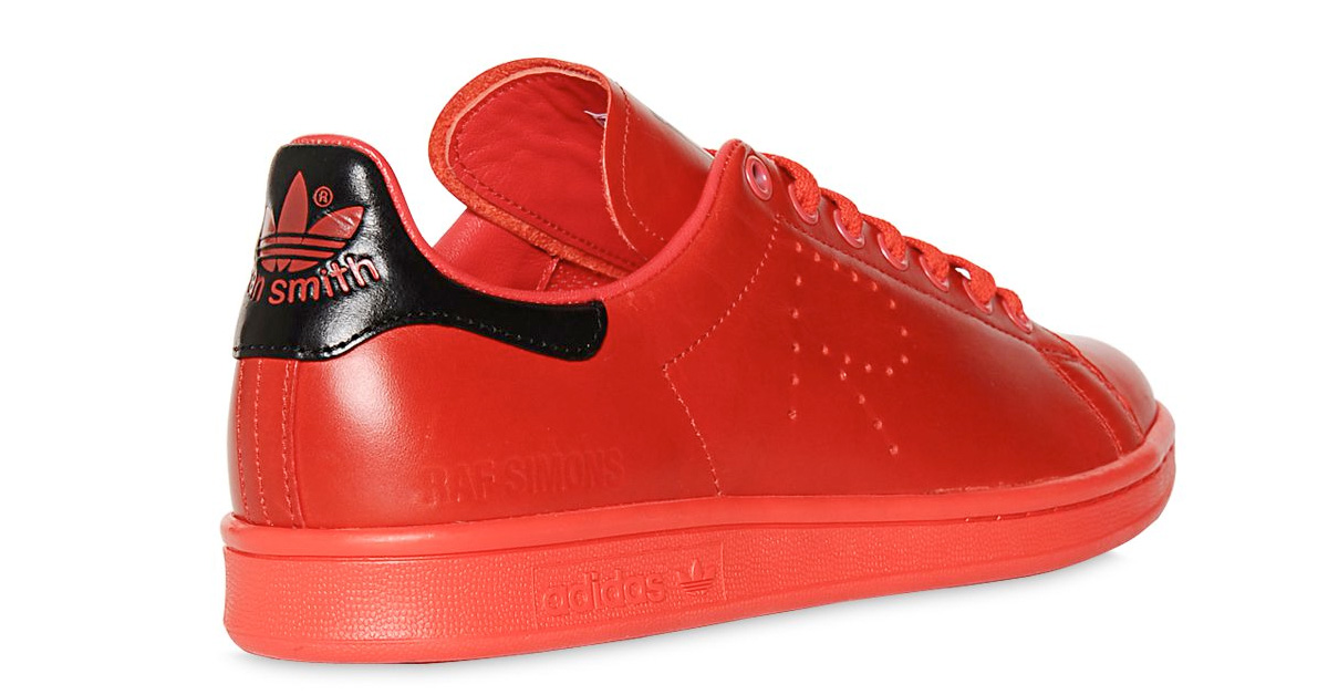 Raf Simons x Adidas Stan Smith Red 64I-3H2006