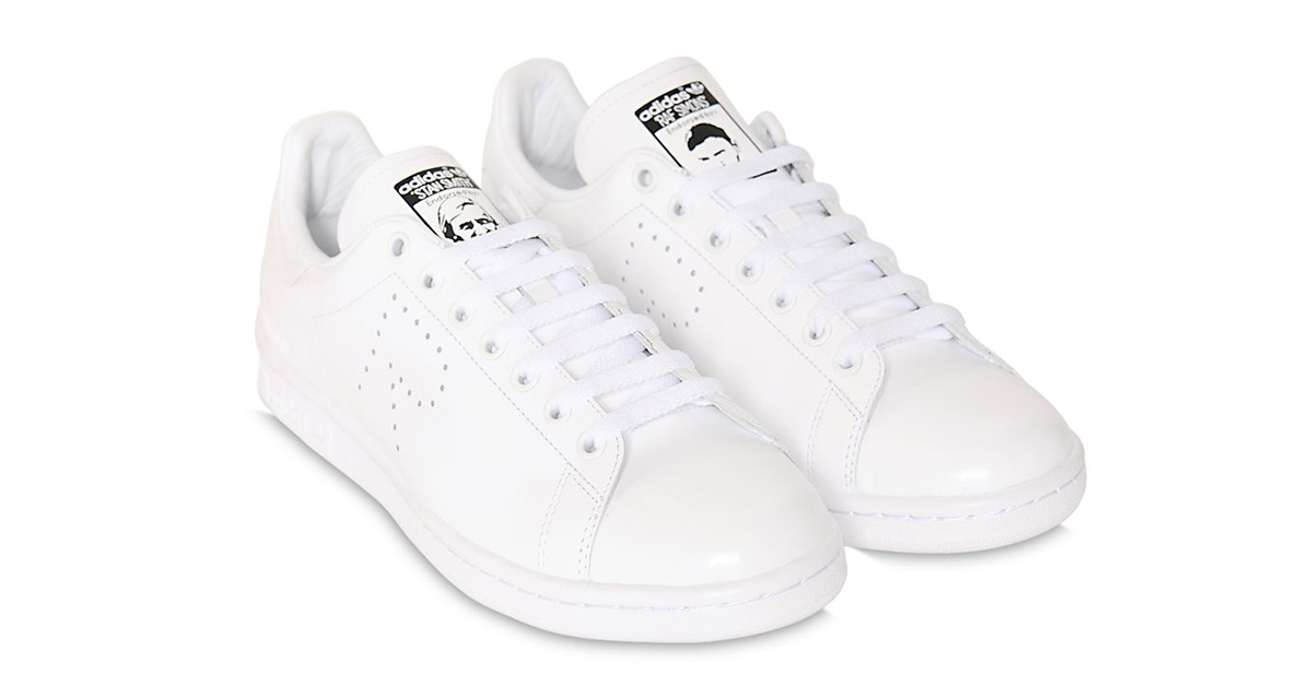 Raf Simons x Adidas Stan Smith White 64I-3H2003