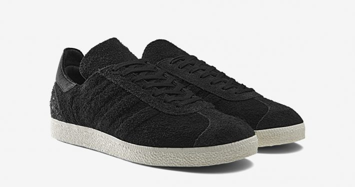 Wings+Horns x Adidas Gazelle Black