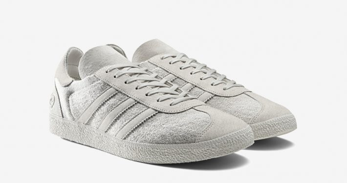 Wings+Horns x Adidas Gazelle Off-White