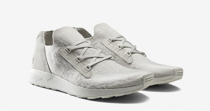Wings+Horns x Adidas ZX Flux Adv X Light Grey