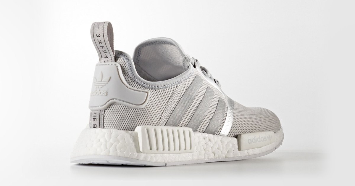 Womens Adidas Nmd R1 Matte Silver Next Level Kickz