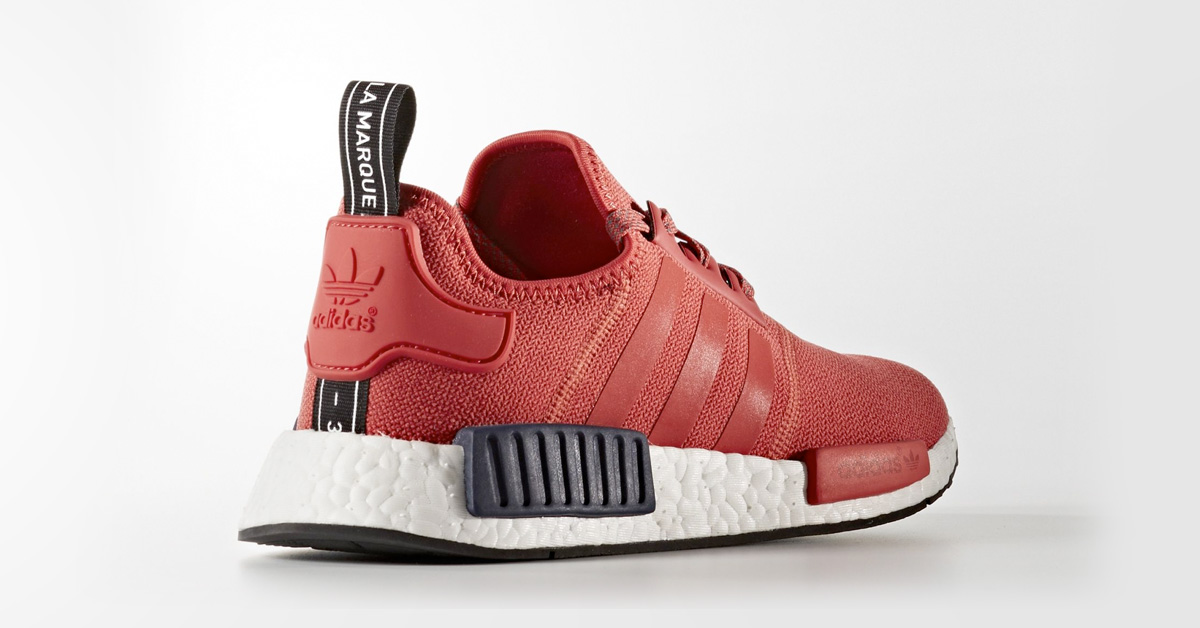 Womens Adidas NMD R1 Vivid Red