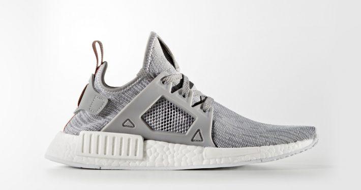 Womens Adidas NMD XR1 Primeknit Solid Grey