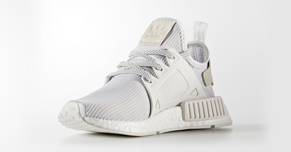 separation shoes bbe4f 9c2ac Womens Adidas NMD XR1 Primeknit Vintage White - Next Level Kickz