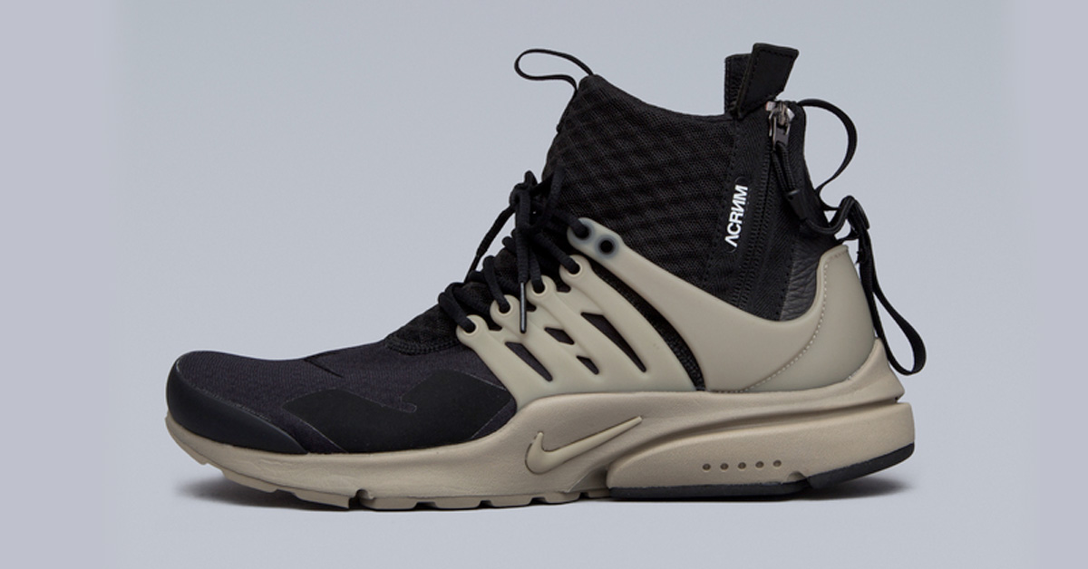 Acronym x NikeLab Air Presto Mid Bamboo - Next Level Kickz