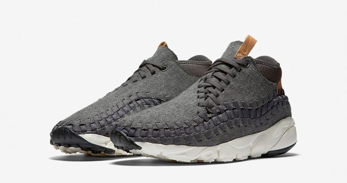 Nike Air Footscape Chukka Woven Wool Dark Grey