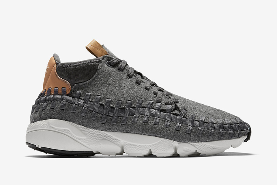 Nike Air Footscape Chukka Woven Wool Dark Grey