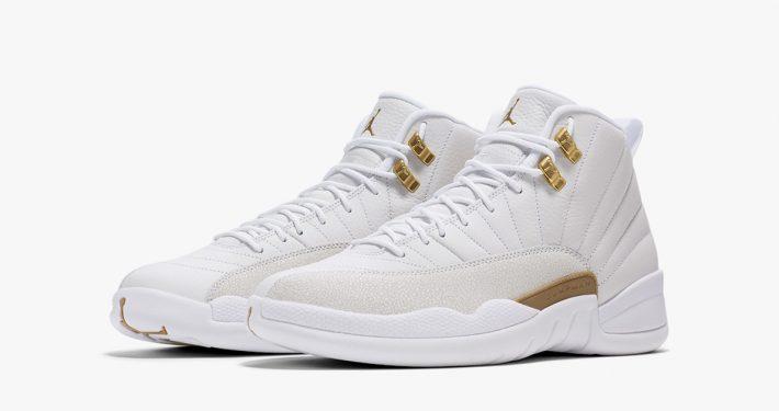 Air Jordan 12 OVO White Gold