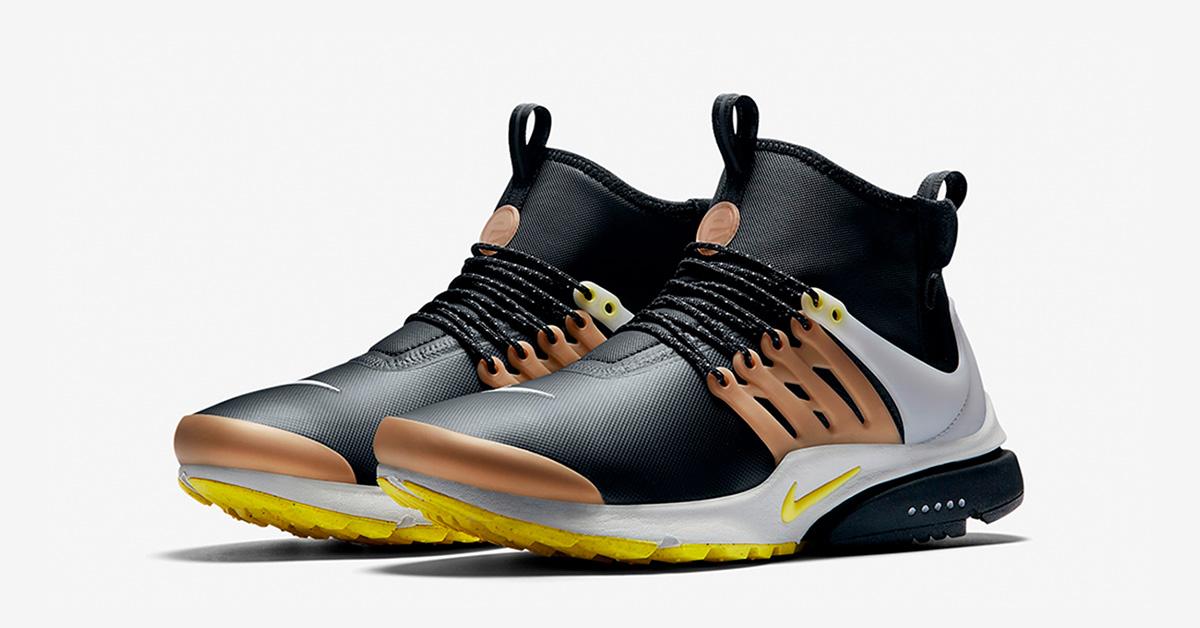 Nike Air Presto Mid Utility Yellow Streak