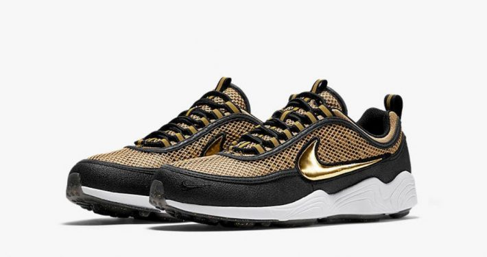 Nike Air Zoom Spiridon Metallic Gold