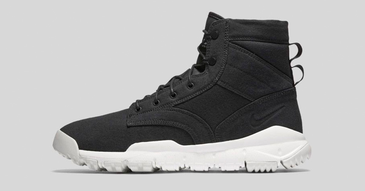 Nike SFB Field Canvas Boot Black