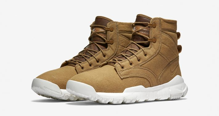Nike SFB Field Canvas Boot Golden Beige