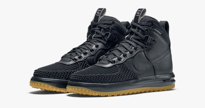 Nike Lunar Force 1 Duckboot Black