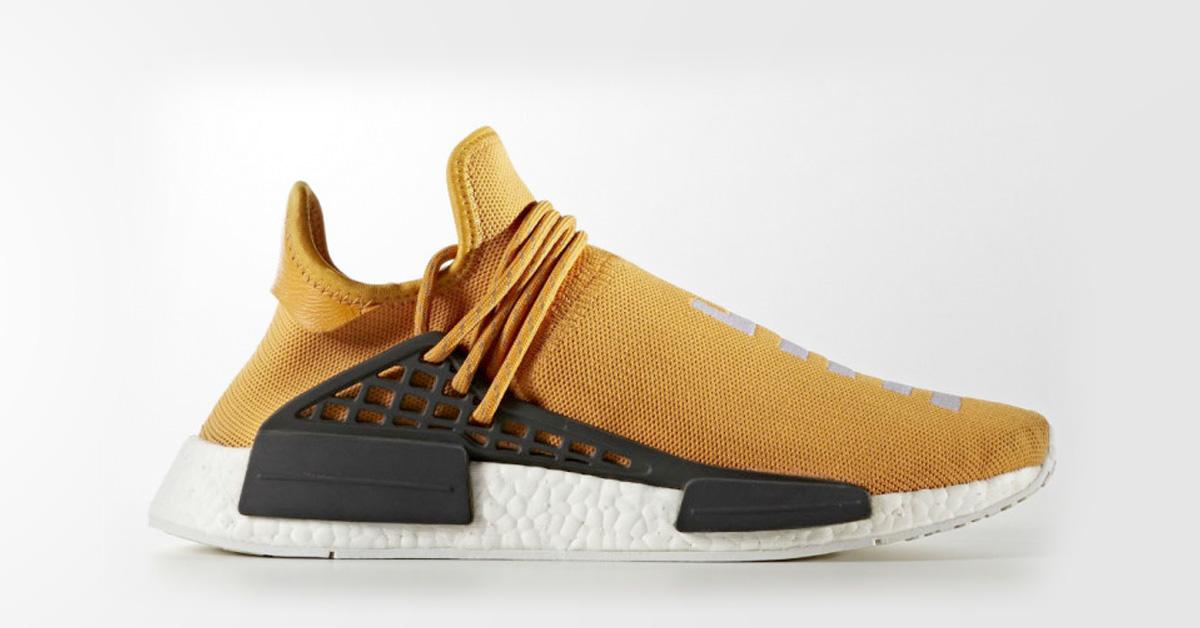 Pharrell x Adidas NMD Human Race Tangerine
