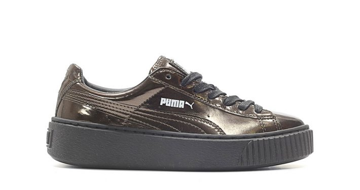 Puma Platform Metallic Black