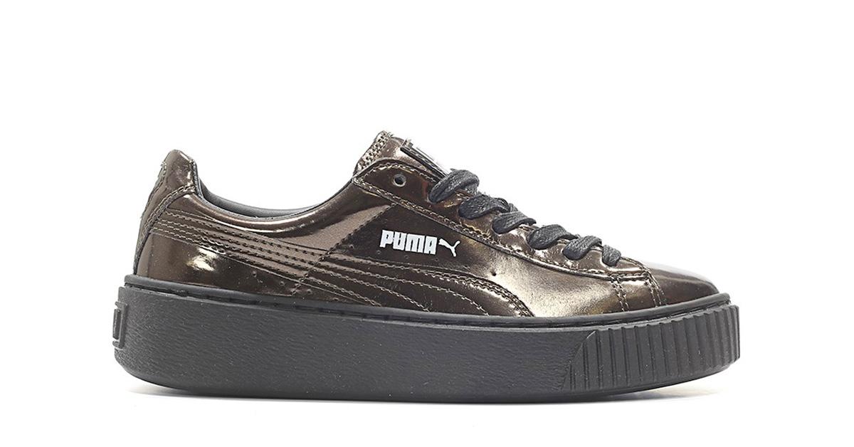 Puma Platform Metallic Black