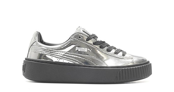 Puma Platform Metallic Silver