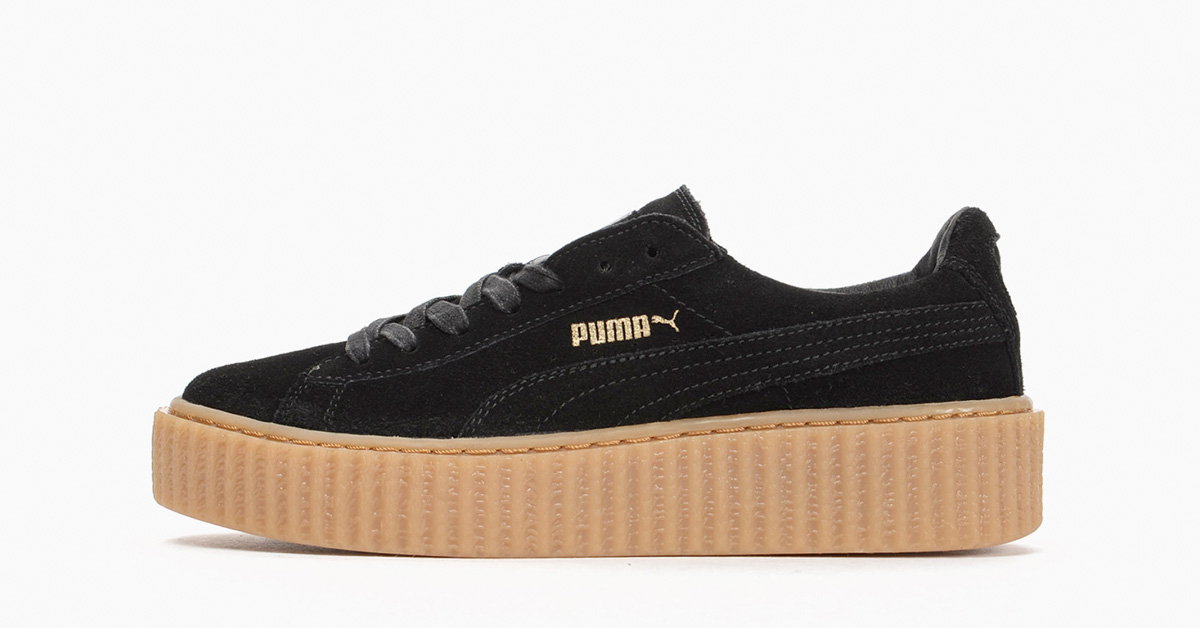 Rihanna x Puma Creeper Black Gum