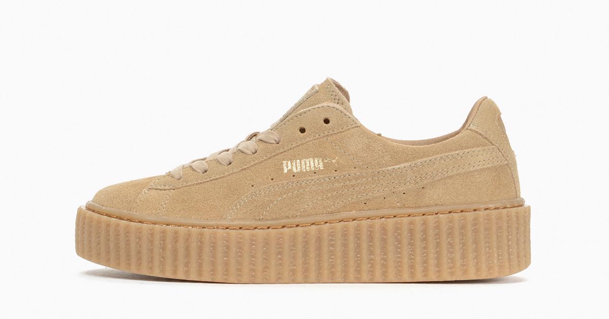 Rihanna x Puma Creeper Oatmeal