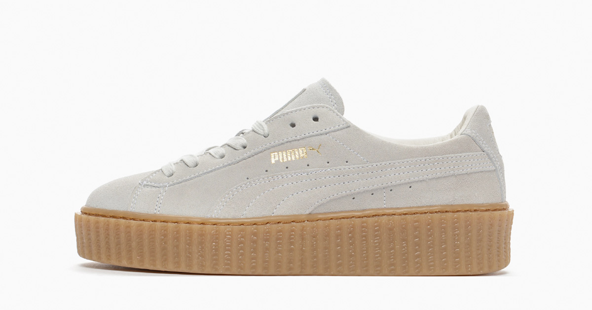 Rihanna x Puma Creeper Star White