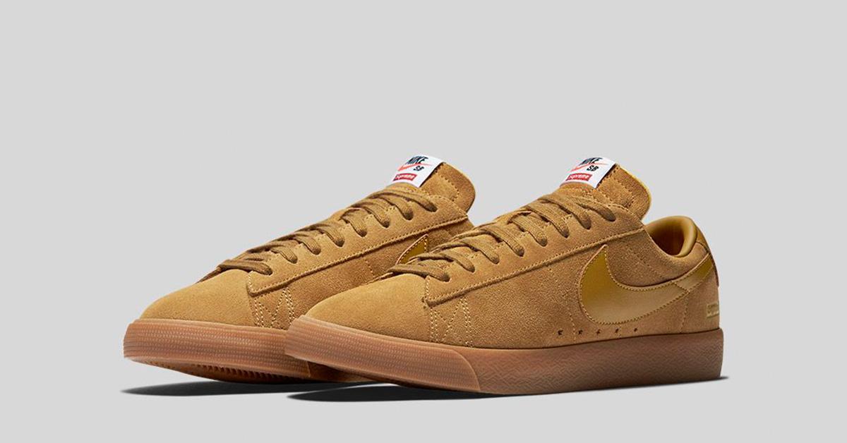 Supreme x Nike SB Blazer Low GT Beige