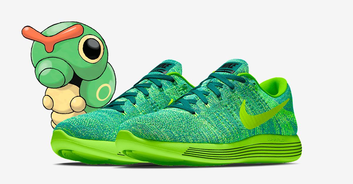 Caterpie x Nike LunarEpic Low Flyknit