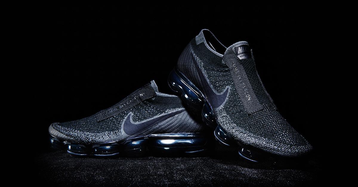 Black Comme des Garcons x Nike Air VaporMax
