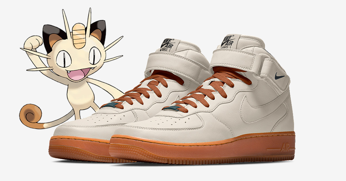 Meowth x Nike Air Force 1 Mid