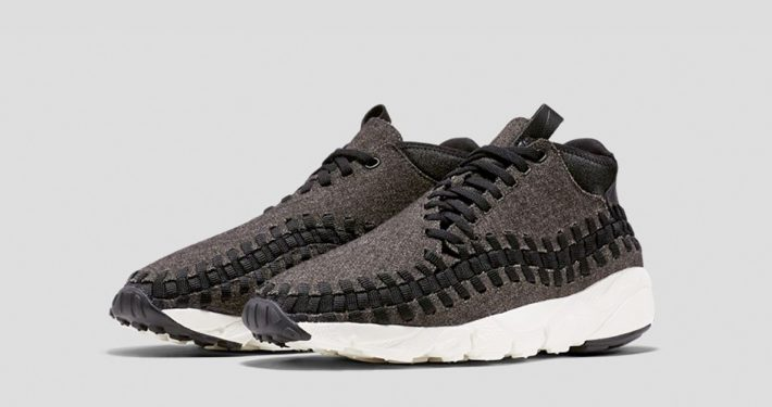 Nike Air Footscape Chukka Woven Wool Black