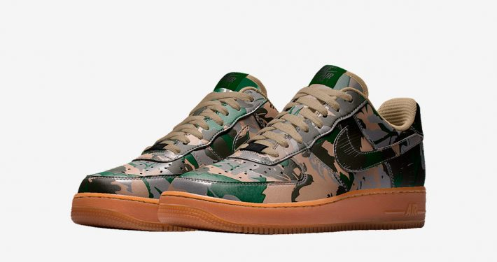 Nike Air Force 1 Low Leaf Camo
