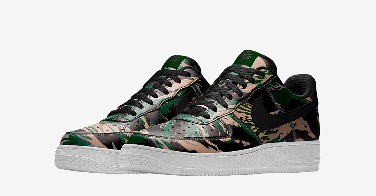 Nike Air Force 1 Low Tiger Camo Next Level Kickz