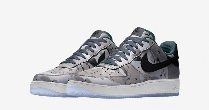 Nike Air Force 1 Low Tonal Desert Camo