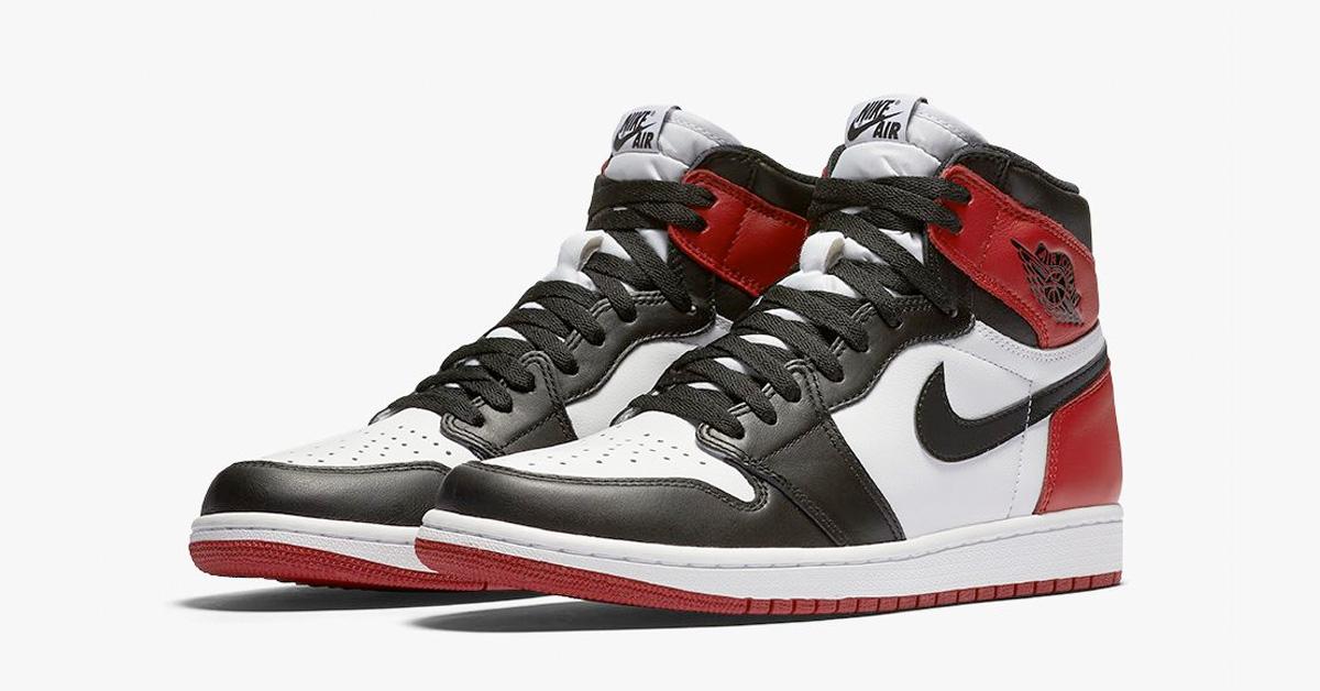 Nike Air Jordan 1 Retro Black Toe