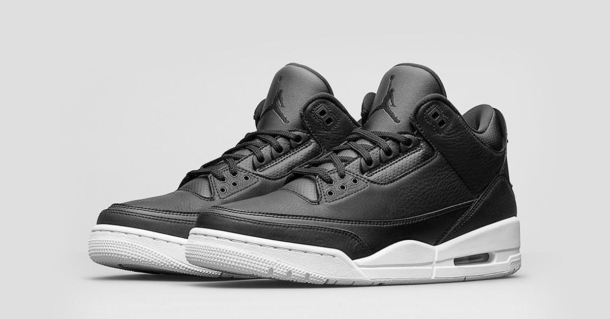 b24f4d92b2572e Nike Air Jordan 3 Retro Black White - Next Level Kickz