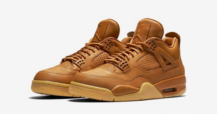 Nike Air Jordan 4 Retro Premium Wheat