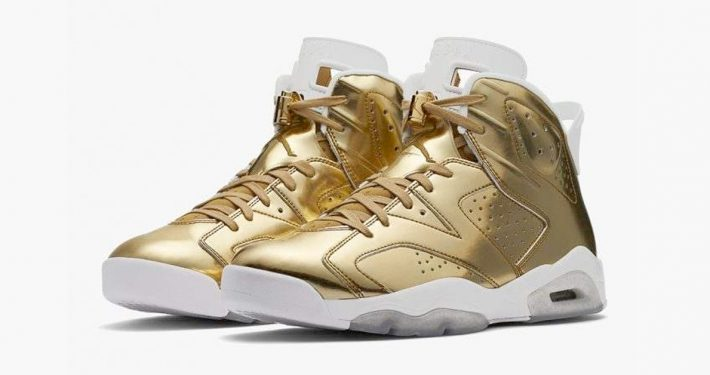 Nike Air Jordan 6 Pinnacle Metallic Gold