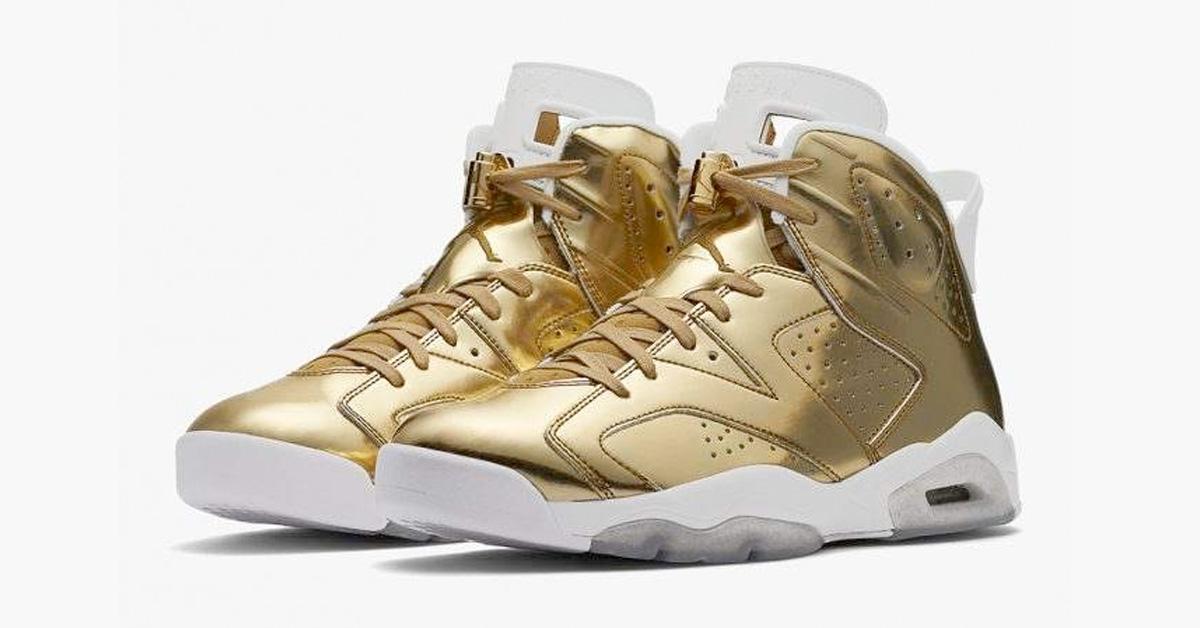 1d5384378218a9 Nike Air Jordan 6 Pinnacle Metallic Gold - Next Level Kickz