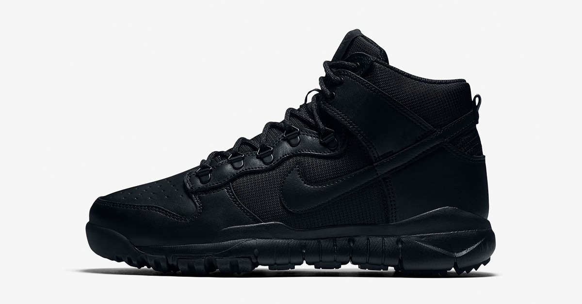 Nike SB Dunk High Sneakerboot Black