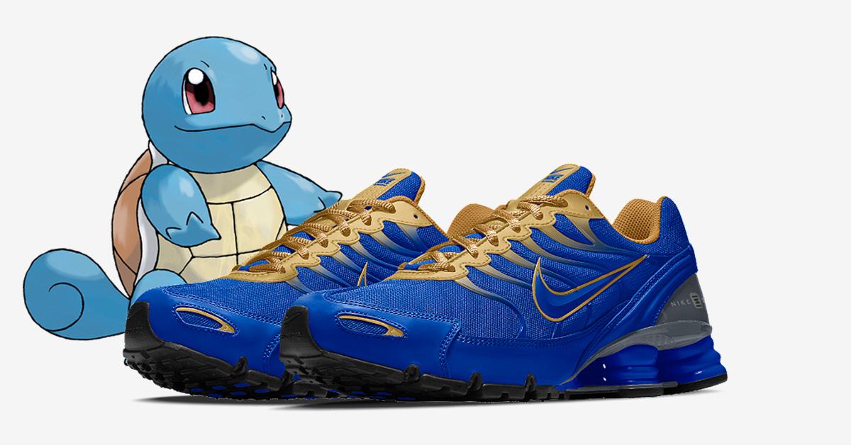 Squirtle x Nike Shox Turbo 6