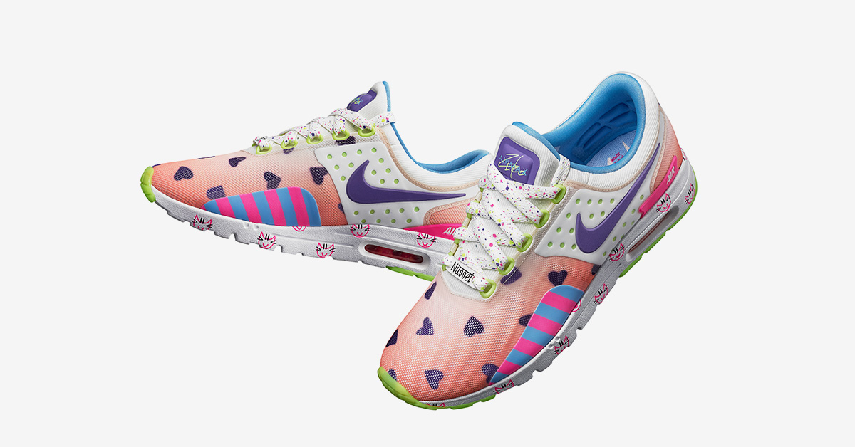 Womens Nike Air Max Zero Doernbecher